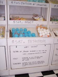 Homemade soap at Bathos.
