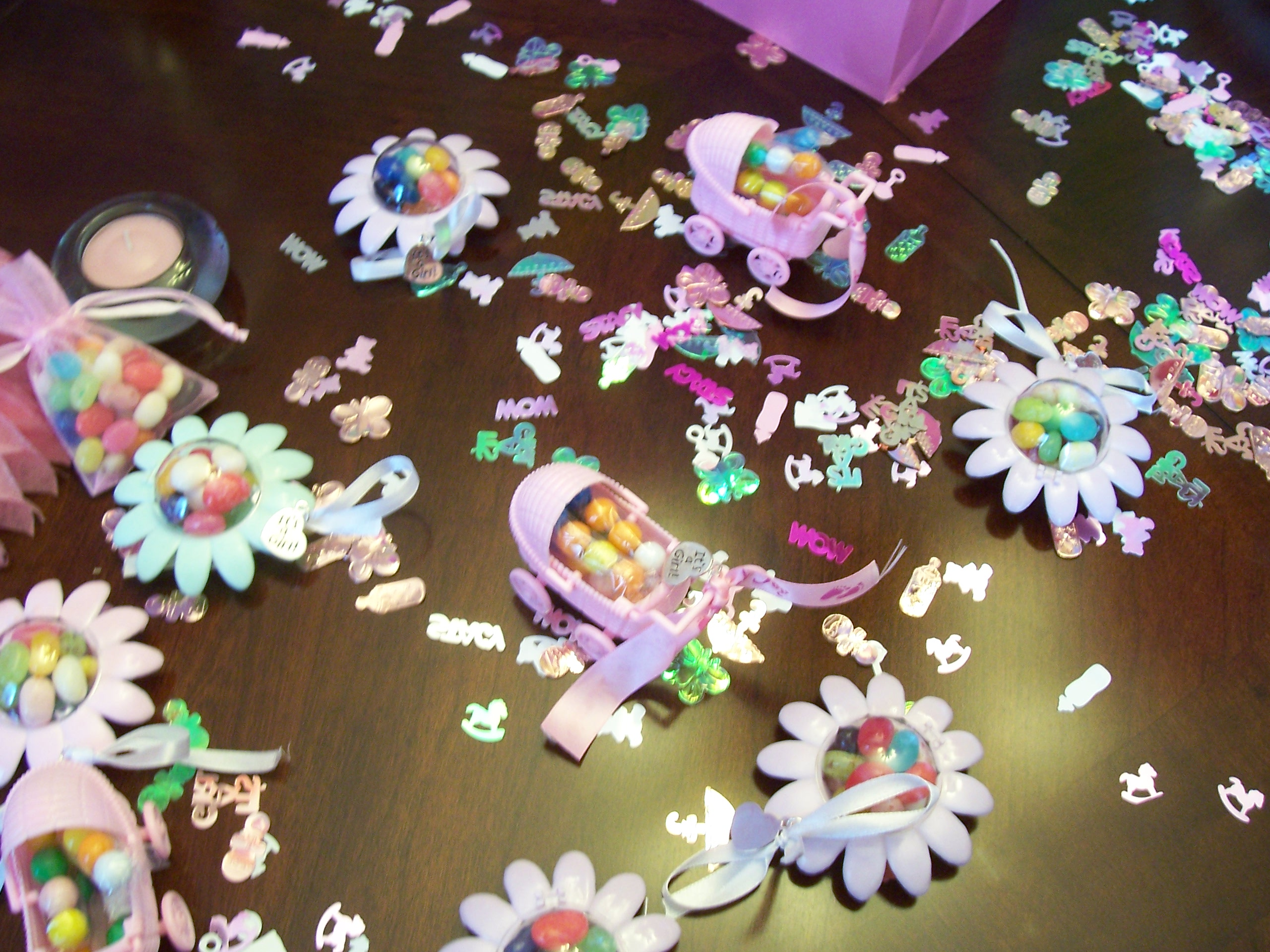 Baby shower decorations coffee with cathy - Deco pour baby shower ...