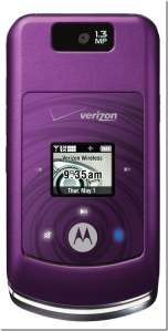 Motorola MOTO™ W755 in purple
