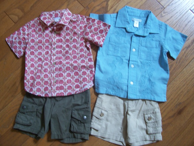 Old Navy little boy clothes