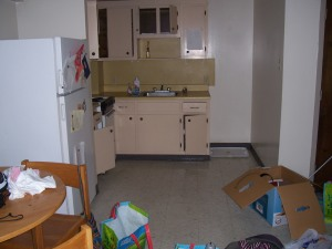 Moving out of the dorm