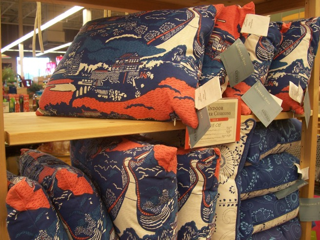 World Market pillows