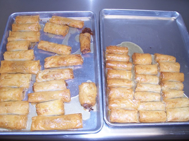 Baklava -- Greek cooking class