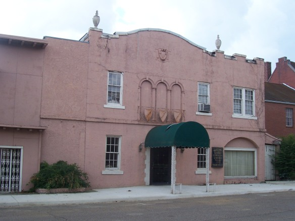 Historic downtown Corinth, Mississippi
