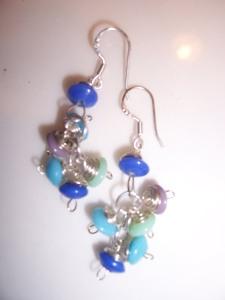 Pair No. 2 -- Beautiful blues and greens