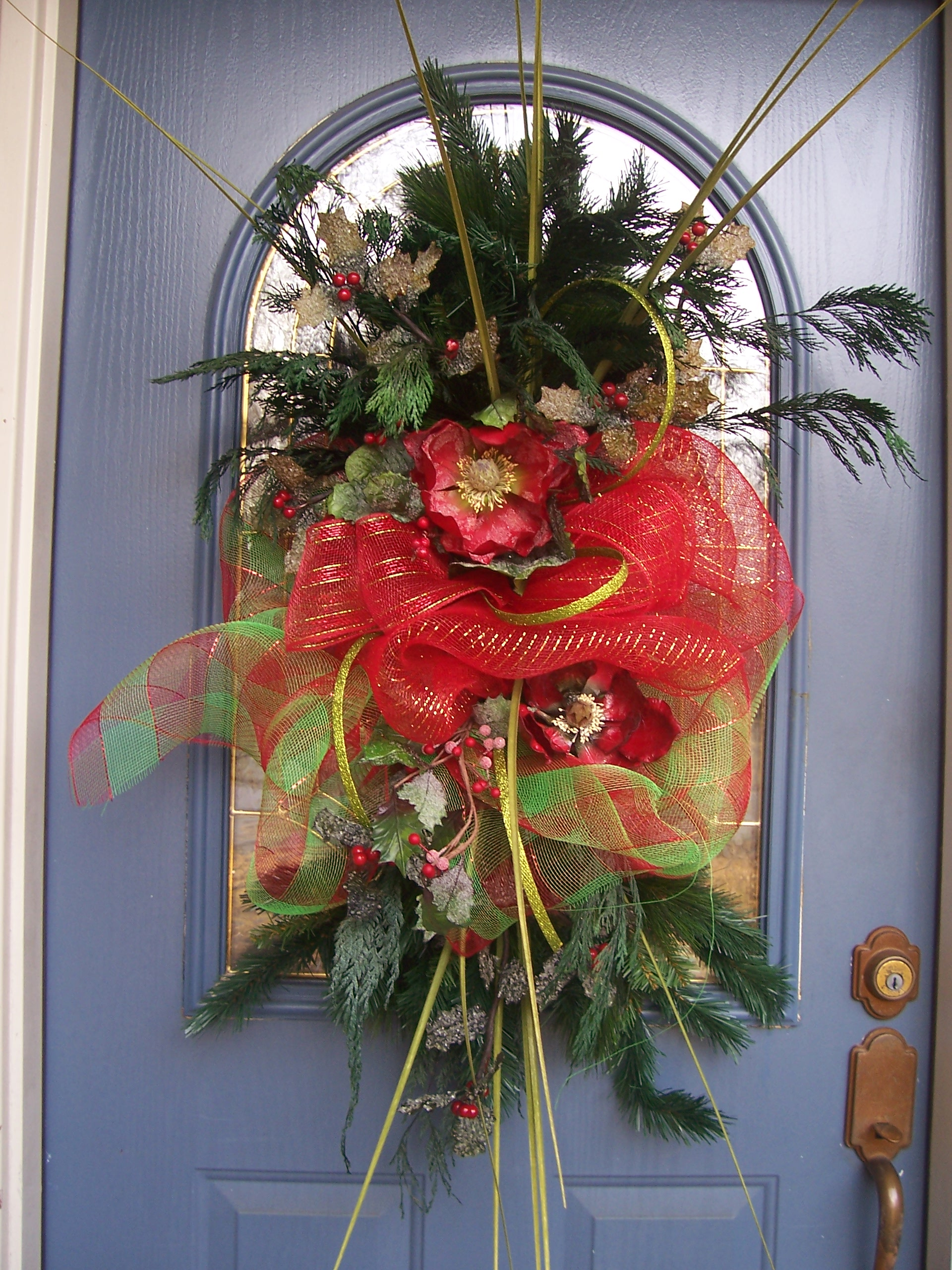 Christmas Decoration Ideas With Ribbon : Moved permanently