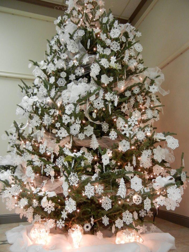 office christmas tree
