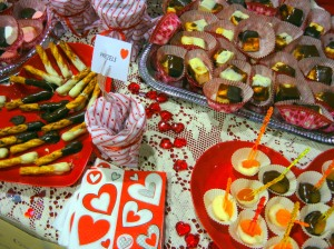 Valentine's desserts